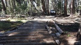 26E216 - Mirror Lake Trail  - Waypoint 10: Log Run