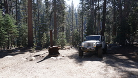 26E216 - Mirror Lake Trail  - Waypoint 14: Another Camp / Trail End