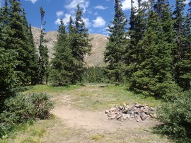 Camping & Lodging: Bill Moore Lake - Empire, Colorado