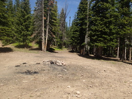 Camping & Lodging: Red Elephant Hill - Downieville-Lawson-Dumont, Colorado