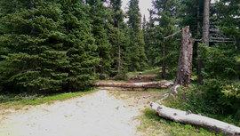 Camping & Lodging: Saints John - Montezuma, Colorado