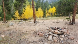 Camping & Lodging: Spring Creek - Downieville-Lawson-Dumont, Colorado