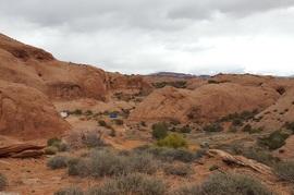Camping & Lodging: Hells Revenge - Moab, Utah