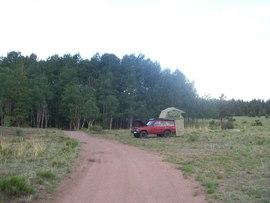Camping & Lodging: Aspen Ridge - Johnson Village, Colorado