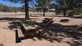 Camping & Lodging: 2N01 - Broom Flat - Big Bear Lake, California