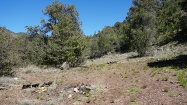 Camping & Lodging: Smiley Rock  - Jerome, Arizona