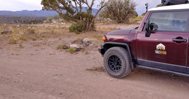 Camping & Lodging: Jerome-Perkinsville Road - Jerome, Arizona