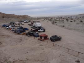 Camping & Lodging: Tectonic Gorge - Ocotillo Wells SVRA - Salton City, California