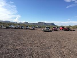 Camping & Lodging: Lower Terminator TV2 - Black Canyon City, Arizona