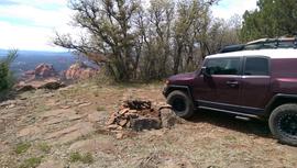 Camping & Lodging: Rocky Sidewinder / 153A - Munds Park, Arizona