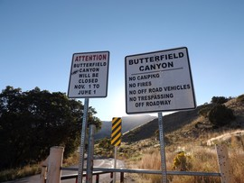 Camping & Lodging: Butterfield Canyon - Herriman, Utah