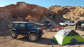Camping & Lodging: Odessa Canyon - Barstow, California