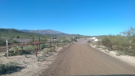 Camping & Lodging: Table Mesa Road - West - New River, Arizona