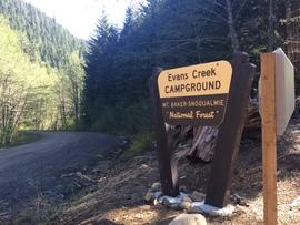 Camping & Lodging: Evans Creek / Trail #102 - Wilkeson, Washington