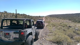 Camping & Lodging: Southern Pipeline Trail - New River, Arizona