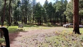 Camping & Lodging: Fernow and Tram Tanks Trail - Kachina Village, Arizona