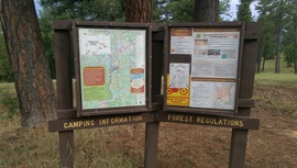 Camping & Lodging: Fry Lake Trail - Kachina Village, Arizona
