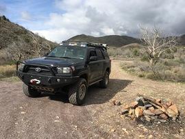 Camping & Lodging: Big Maggie May Trail - Carefree, Arizona