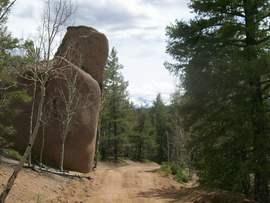 Balanced Rock Road - Monument, Colorado