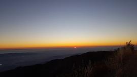 3S04 - Main Divide South - Santiago Peak (aka Saddleback Mountain) - Lake Elsinore, California