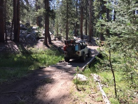 Dusy-Ershim  Trail - Shaver Lake, California