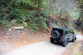5S06 - Old Control Road - Idyllwild, California