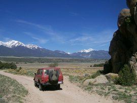 Bald Mountain Gulch Cutoff - Johnson Village, Colorado