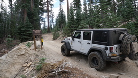 8S42 to Sand Flats - Shaver Lake, California